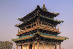 Chinese gate tower Royalty Free Stock Photo