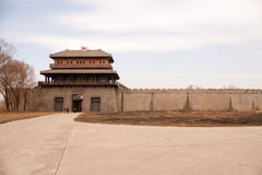 Free Chinese Gate Tower Royalty Free Stock Photo - 19866885
