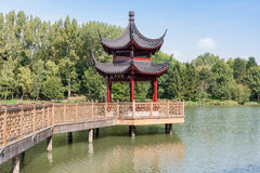 Chinese gazebo Stock Image