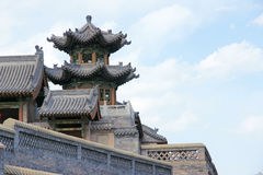 Chinese gebouwen Stock Fotografie