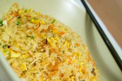 Chinese gebraden rijst Royalty-vrije Stock Foto's