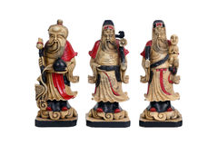 Chinese gelukkige goden, Fu Lu Shou Royalty-vrije Stock Afbeelding