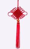 Chinese gelukkige knoop Royalty-vrije Stock Afbeelding