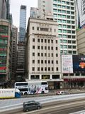 Chinese General Chamber of Commerce building in Hong Kong Royalty Free Stock Photos