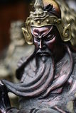 Chinese General Statue Royalty Free Stock Photography
