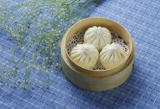 CHINESE GESTOOMDE BROODJES Royalty-vrije Stock Foto