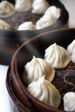 Chinese gestoomde broodjes Stock Afbeelding