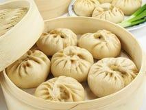 Chinese Gestoomde Broodjes Royalty-vrije Stock Afbeeldingen