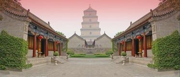 Chinese gevechtsarena royalty-vrije illustratie