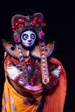 Chinese gezicht-Veranderende prestaties. Het Festival 2013 van de lente Stock Foto's
