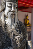 Chinese giant statue Stock Photos