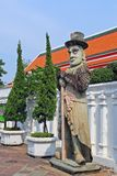 Chinese Giant Statue at Wat Pho Bangkok Thailand Royalty Free Stock Image