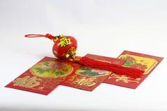 Chinese  gift envolop lantern Royalty Free Stock Photo
