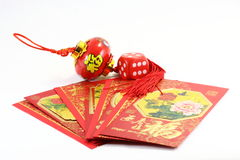 Chinese  gift envolop lantern Royalty Free Stock Image