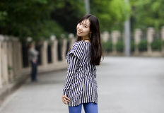 A chinese girl Stock Photos