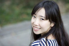 A chinese girl Royalty Free Stock Image