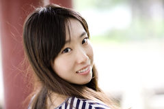 A chinese girl Stock Images
