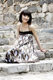 A Chinese girl Royalty Free Stock Photography
