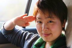 Chinese girl Stock Image