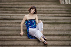 Chinese girl royalty free stock images