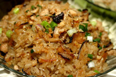 Chinese glutinous rice. Rich dark chinese glutinous rice Royalty Free Stock Image