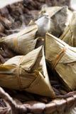 Chinese glutinous rice dumpling Stock Photo