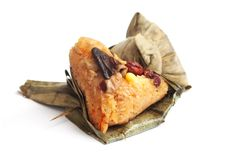 Free Chinese Glutinous  Rice Dumpling Wrap In Leaves Stock Images - 31850764