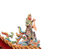 Chinese god Stock Photo