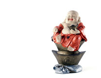Chinese God with character FU mean good luck ,fortune and blessing Stock Photos