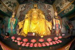 Chinese God dichtbij Dragon Gate in Kumming-stad Stock Afbeeldingen
