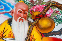 Chinese god. Of fortune in Thailand Stock Photos