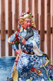 Chinese god made of porcelain Stock Photography