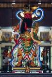 Chinese god made of porcelain Stock Photo