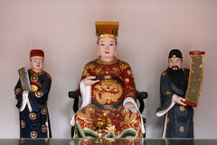 Chinese God Statue. Chinese God - Thian Hock Keng Temple, Singapore royalty free stock photography