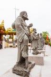 Chinese god statue. Around Chinese shrine, Phuket, Thailand Royalty Free Stock Images