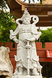Chinese God Statues Royalty Free Stock Image