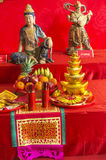 Chinese God Statues Stock Image