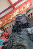 Chinese god statues in Pud Jor Shrine on Vegetarian Festival at Royalty Free Stock Photos
