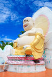 Chinese god of wealth, prosperity and happiness. Beautiful Chinese god of wealth, prosperity and happiness stock image