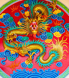 CHINESE GODDESS IN COLORFUL Stock Images