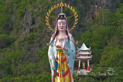 Chinese goddess kwan im Stock Photography