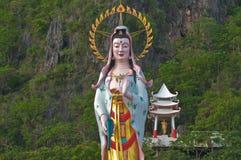 Chinese Goddess Kwan Im Stock Photography