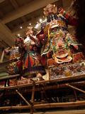 Chinese gods. Model of Chinese god in Hong Kong Heritage Museum stock photography