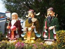 Chinese gods Royalty Free Stock Image