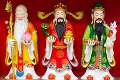 Chinese gods Stock Image