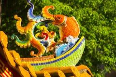 Chinese Godsdienst, Daikin-Oven, de Karper van de Mascottesteen royalty-vrije stock afbeelding