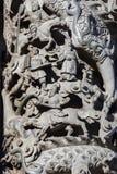 Chinese godsdienstige overtuigingen, steengravure, godsdienst stock foto