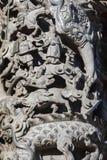 Chinese godsdienstige overtuigingen, steengravure, godsdienst royalty-vrije stock foto's