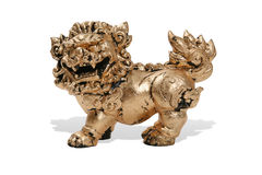 Chinese Gold Dragon Royalty Free Stock Photo