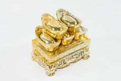 Chinese gold Stock Image